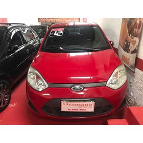 Ford Fiesta 1.6 16v  Flex  Vermelho 2011/2012
