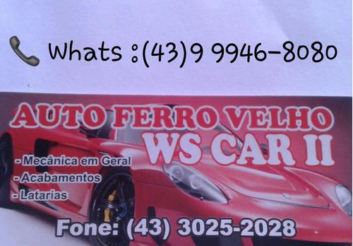 ford fiesta 1.6 2005 sucata somente retirada de peças
