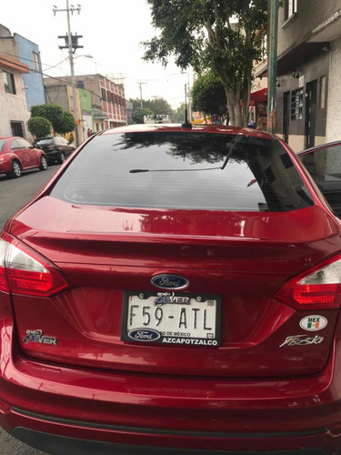 ford fiesta 1.6 s sedan mt 2017