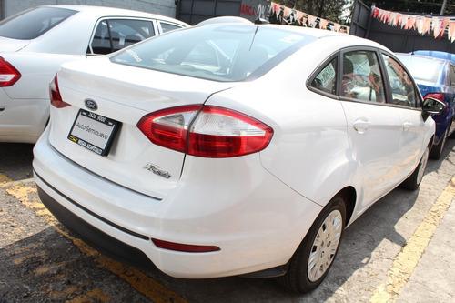 ford fiesta 1.6 s sedan mt blanco 2016