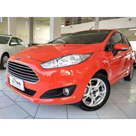 Ford Fiesta 1.6 Se Hatch 16v 2014 Vermelha Flex