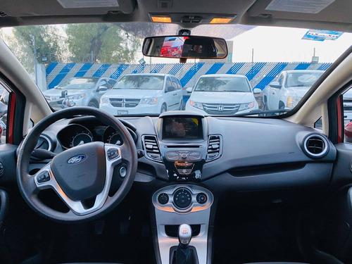 ford fiesta 1.6 titanium sedan at 2017