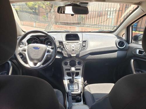 ford fiesta 1600 cc, 4 puertas sedan blanco unico dueño