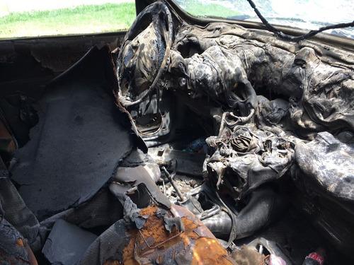 ford fiesta 1.8 diesel chocado dado de baja alta de motor