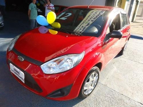 ford fiesta 2012 1.6 flex vermelho