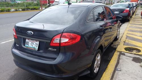 ford fiesta 2012 $49000 de enganche, lujo al volante