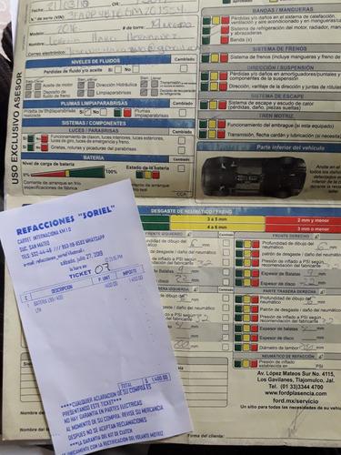 ford, fiesta 2016 se (equipado) manual con quemacocos