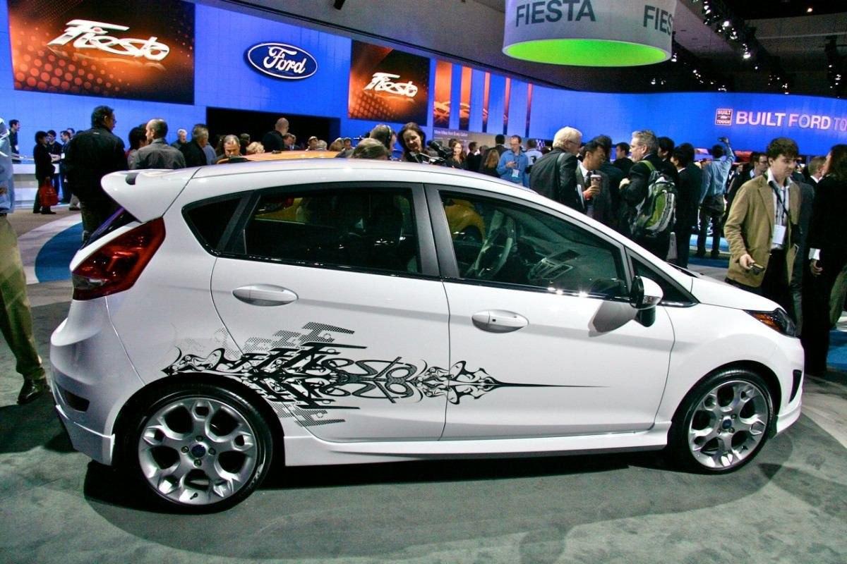 Ford Fiesta Calcomanias Stickers Graficas Originales