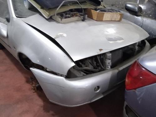 ford fiesta chocado 1.3 dado de baja 04 alta motor liq