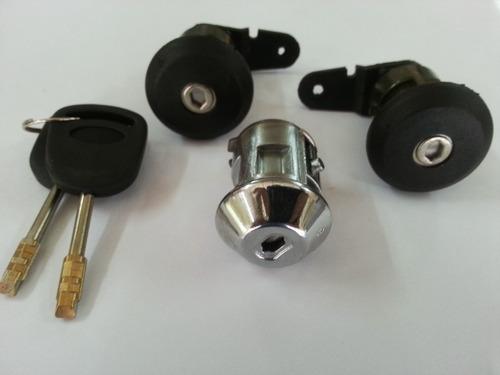 ford fiesta cilindro con llave de ignición y puertas 98-2002