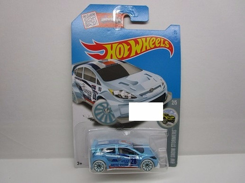 ford fiesta escala miniatura coleccion hot wheels  t25
