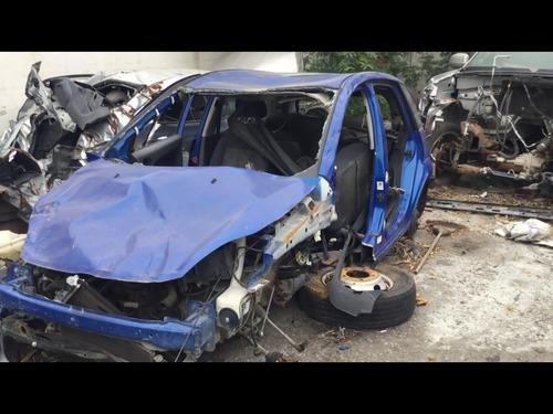 ford fiesta ikon hatchback 2013 azul yonkes