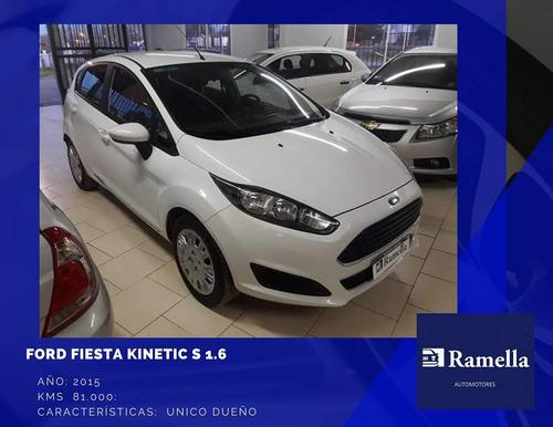ford fiesta kinetic design 1.6 s 120cv 2015