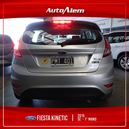 ford fiesta kinetic design 1.6 se 120cv modelo 2015