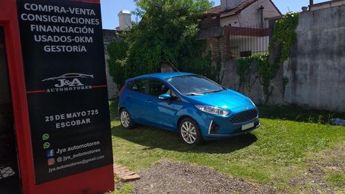 ford fiesta kinetic design 1.6 se - 2018