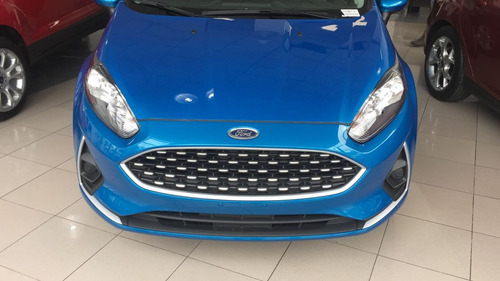 ford fiesta kinetic design s plus 1.6 5 puertas  stock 2018