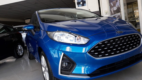 ford fiesta kinetic se plus | 2018 0 km rojo sport