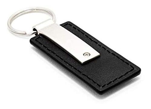 ford fiesta piel negro auto clave cadena, oficial.