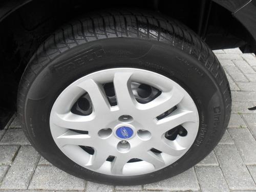 ford fiesta rocam 1.6 flex - 4 pneus novos!