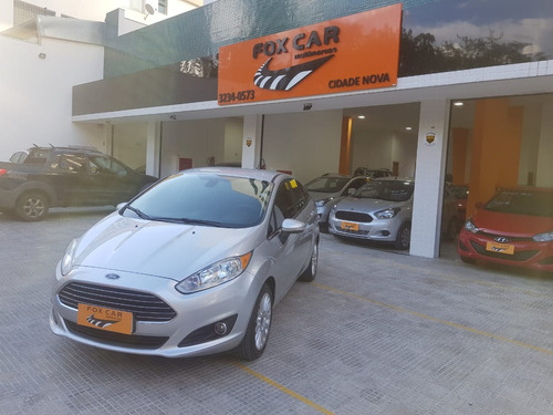 ford fiesta sedan 1.6 16v titanium  powershift  (7852)