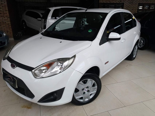 ford fiesta sedan 1.6 class 2013 branco flex