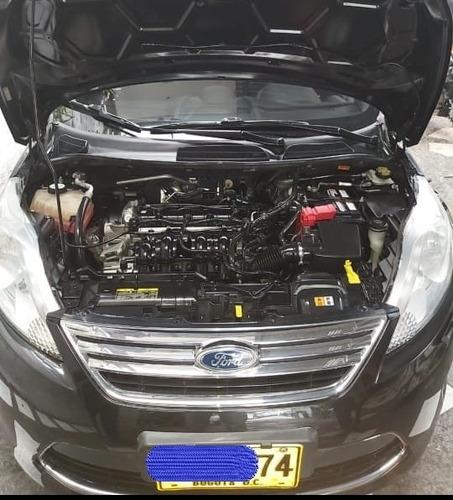 ford fiesta sedan - 2011 - negro gala - exc. estado...