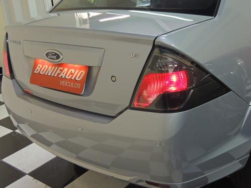 ford/ fiesta sedan se 1.6 - flex - prata - completo - 2014