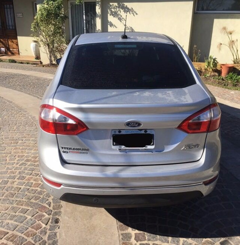 ford fiesta sedan titanium powershift 2015