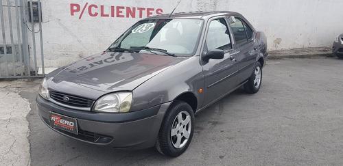 ford fiesta street 2003 sedan 1.0 8v novo