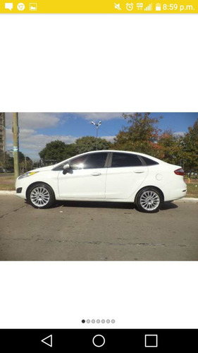 ford fiesta titanium 1.6 mexicano  full sedan titular.