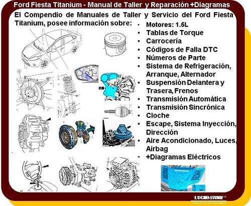 ford fiesta titanium manual servicio reparacion diagrama ecu