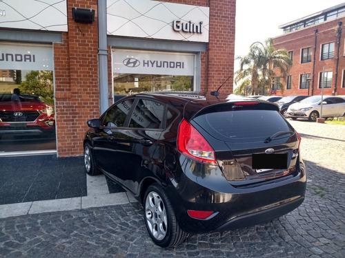 ford fiesta titanium mt, 2010, negro, 5p, 98000kms