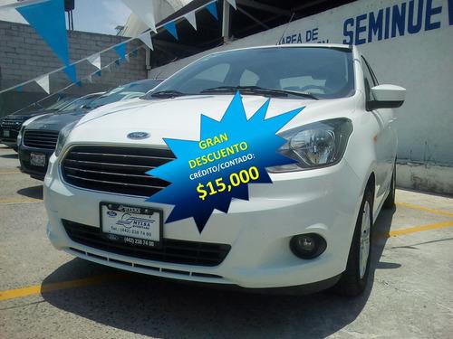 ford figo 1.5 titanium sedan at, b/a abs a/a, mp3 credito