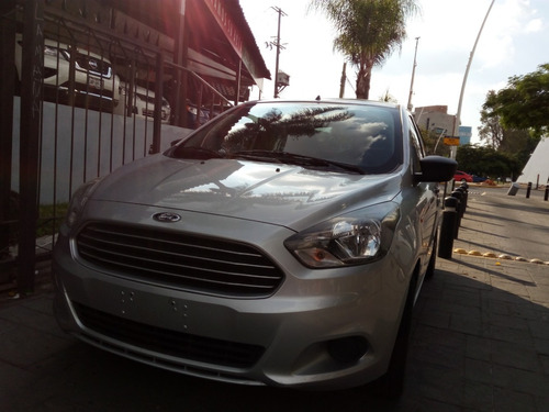 ford figo 2016 plata1.5 impulse aa sedan mt