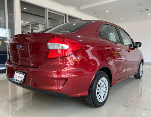 ford figo impulse tm 2019 rojo