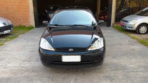 ford focus 1.6 glx 2009 preto flex
