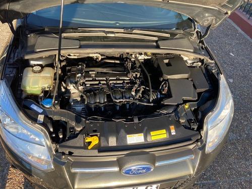 ford focus 1.6 s 5 ptas 2014 gris excelente pocos kms