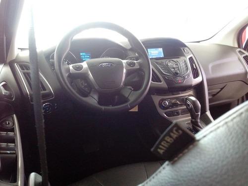 ford focus 2.0 fastback se plus 2014 cinza flex
