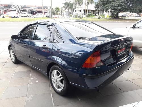ford focus 2.0 glx sedan manual financiamos 100% sem entrada