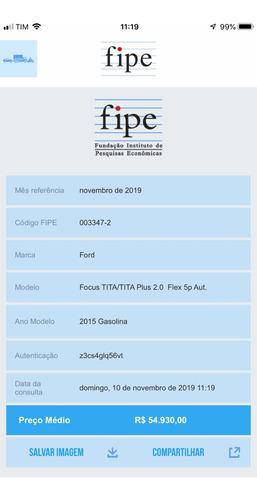 ford focus 2.0 titanium  5p 2015 com ipva 2020 pago