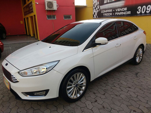 ford focus 2.0 titanium flex powershift automático 5p 2016