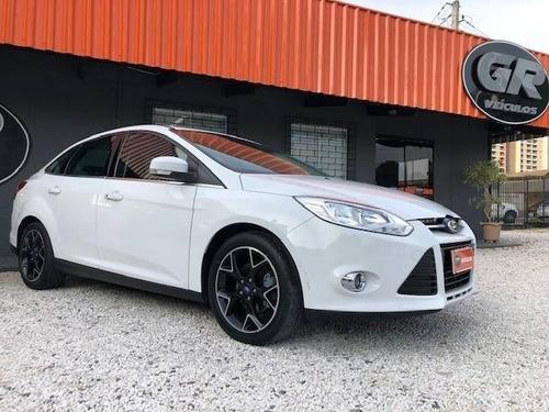 ford focus 2.0 titanium sedan flex automático