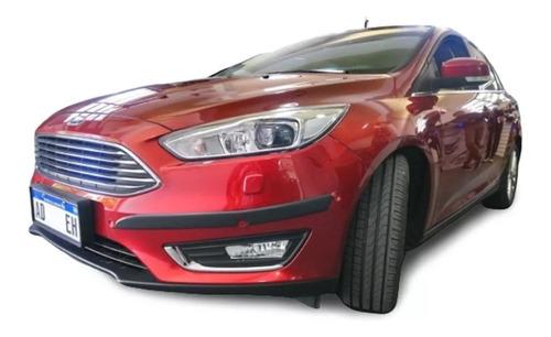 ford focus 2015/19 baguetas puertas + protectores paragolpes