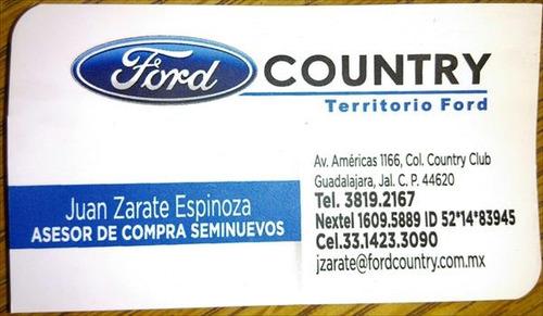 ford focus 4p ambiente l4 2.0 man