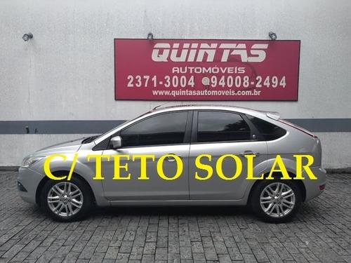 ford focus ghia 2.0 - auto. c/ teto solar - 2009