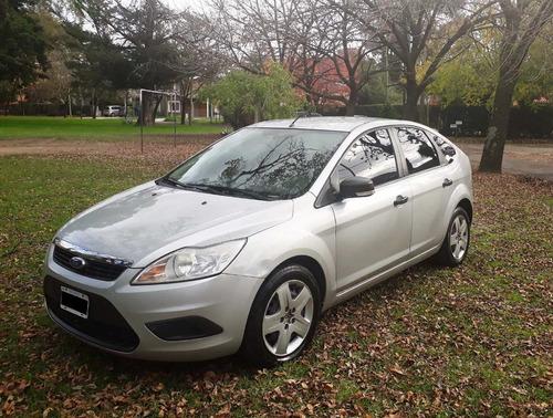 ford focus ii style tdci 5 puertas diesel gris plata 1.8