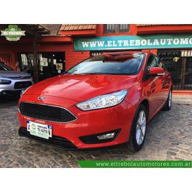 Ford Focus Iii 1.6 S 2017 Rojo
