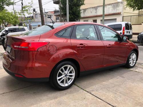 ford focus iii 1.6 sedan s 2018 nuevo permuto financio!!!