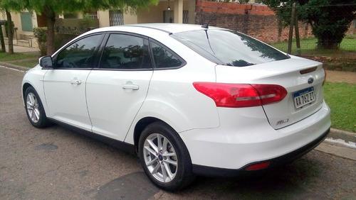 ford focus iii 2.0 sedan se gps blanco