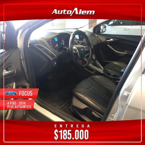 ford focus iii 2.0 sedan se plus at6 modelo 2014